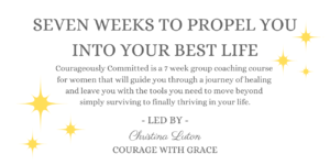 Courageously Committed Course by Christina Luton